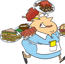 55c8ec1b25804079e9b649f9915d3762piccole-insofferenze-da-cartoon-waitress-clipart2000-1415-1024x724